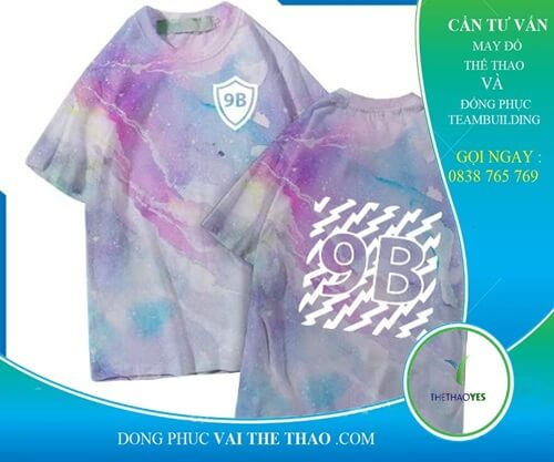 mẫu áo thun đồng phục lớp đẹp